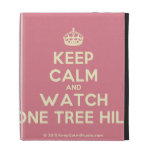 [Crown] keep calm and watch one tree hill  iPad Cases