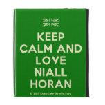 [UK Flag] keep calm and love niall horan  iPad Cases