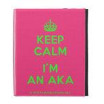[Crown] keep calm i'm an aka  iPad Cases