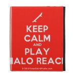 [Skateboard] keep calm and play halo reach  iPad Cases