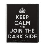 [Crown] keep calm and join the dark side  iPad Cases