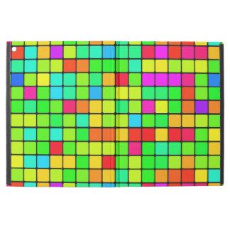 iPad cases retro colorful vibrant blocks