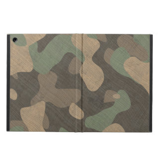iPad cases woodland ground forces camouflage