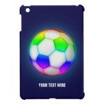 iPad colorido del fútbol del fútbol de Personaliza iPad Mini Coberturas