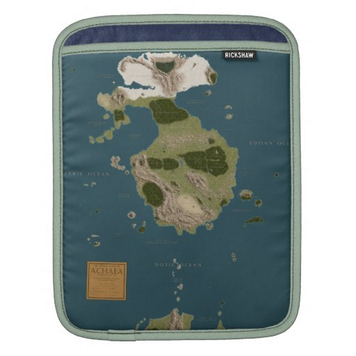 iPad Cover - Achaean Map Sleeves For iPads