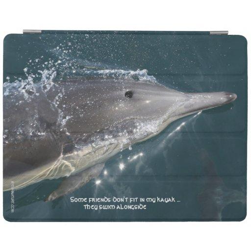 iPad cover featuring Common dolphin