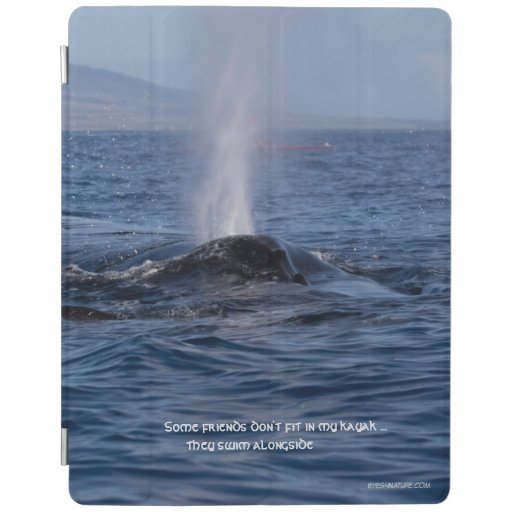 iPad cover featuring Humpback whale