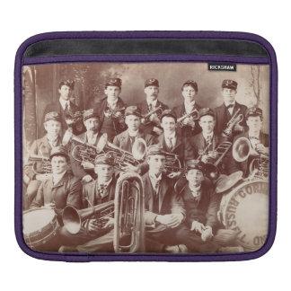 iPad cover, Russell Cornet Band, Minnesota, 1908. iPad Sleeve