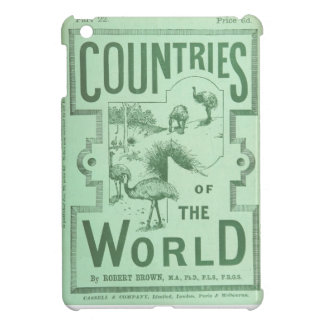 iPad Cover Vintage Book Countries of the World
