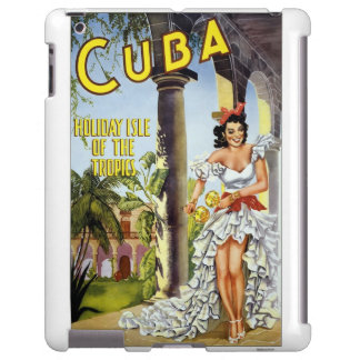 iPad Cover Vintage Travel Cuba