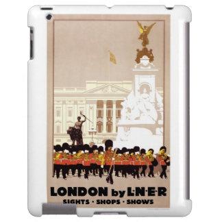 iPad Cover Vintage Travel London