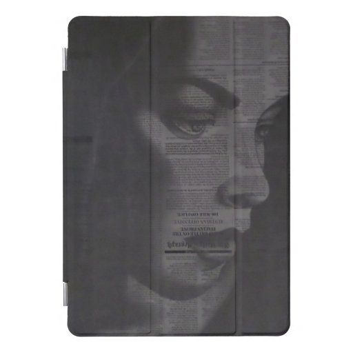 iPad cover with very unique drawing