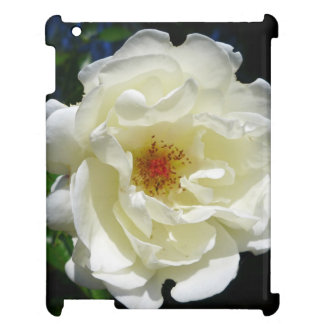 iPad cover with White Flower