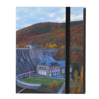 iPad covering Edersee concrete dam in the autumn iPad Covers