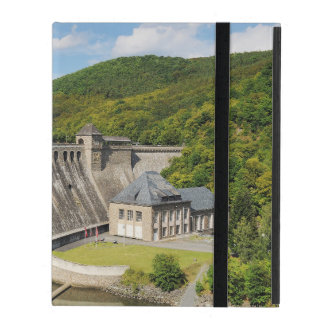 iPad covering Edersee concrete dam in the summer iPad Cover
