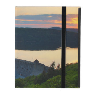 iPad covering Edersee concrete dam sunset iPad Covers