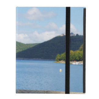 iPad covering Edersee with closed forest-hits a iPad Cover