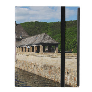 iPad covering Edersee with closed forest-hits a iPad Folio Case