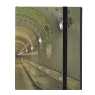 iPad covering Hamburg of old Elbe tunnels iPad Folio Cases