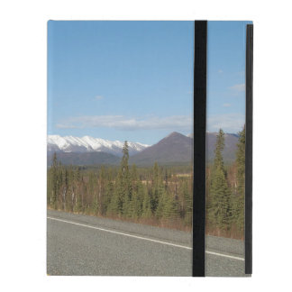 iPad covering highway in Alaska iPad Case