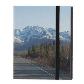 iPad covering highway in Alaska iPad Cases