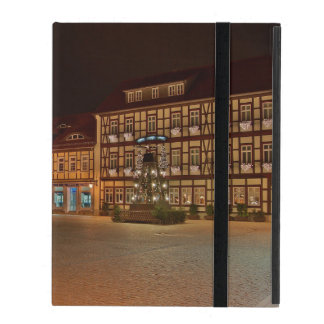 iPad covering market place who Niger ode at night iPad Case