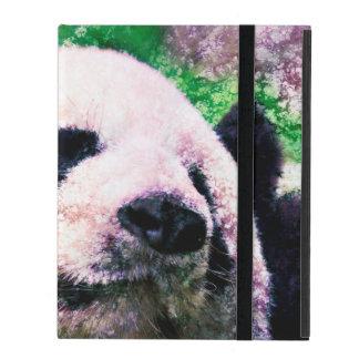 iPad Custom Cases - Panda Resting iPad Covers