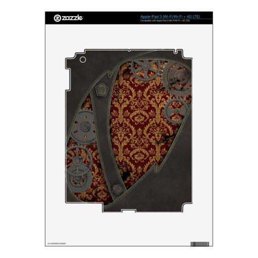 iPad de cobre de Steampunk del vintage iPad 3 Skins