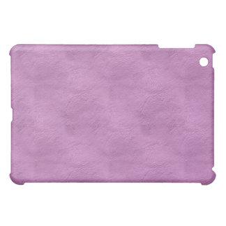 iPad de cuero púrpura de la mirada