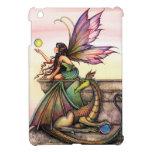 iPad de hadas del arte de la fantasía del dragón d iPad Mini Fundas