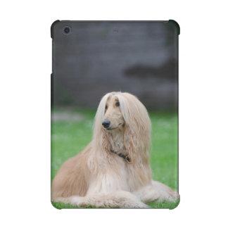 Ipad de la foto del perro de afgano caso mini 2 y