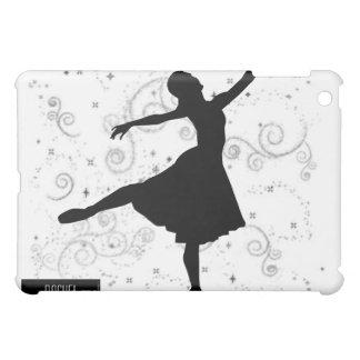 iPad de la silueta de la bailarina