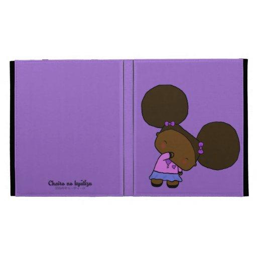 iPad de Linzy Funda-Púrpura