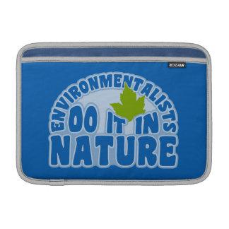 iPad de los ecologistas/manga de encargo del orden Funda Para Macbook Air