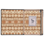 iPad de madera tribal Dodocase del modelo de South iPad Funda