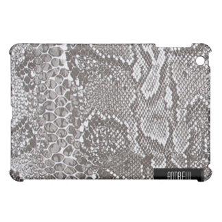 iPad de plata de la piel de Snakeskin