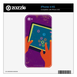 iPad Decals For iPhone 4