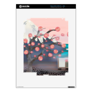 ipad decals nature and peace
