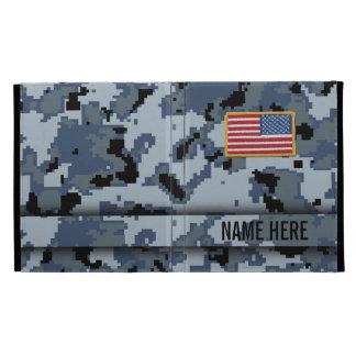 iPad del camuflaje de Digitaces del estilo de Navy