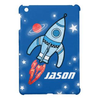 Ipad del cohete del espacio de nombres del azul mi iPad mini protector