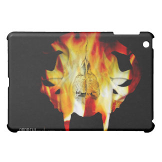 iPad del gato del diente del sable del fuego