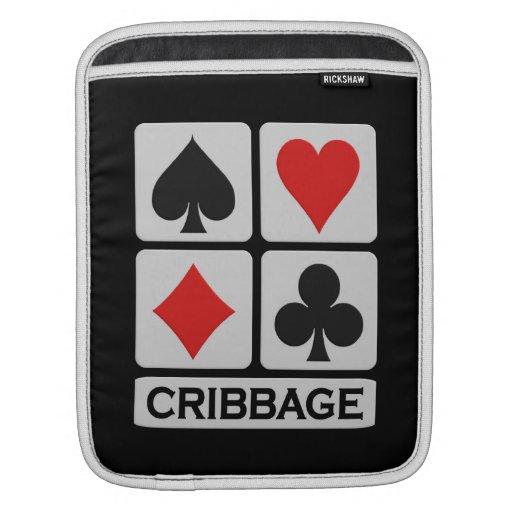 iPad del jugador de Cribbage/manga de encargo del  Mangas De iPad