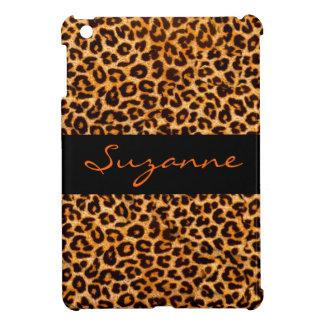 iPad del modelo de la piel del guepardo mini perso iPad Mini Protector