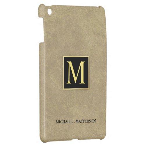 iPad del monograma del hombre de negocios mini iPad Mini Cárcasa