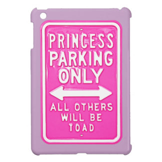 iPad del sapo de princesa Parking Only Others Be