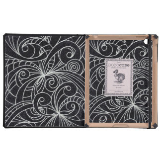 iPad DODOcase Floral abstract background Covers For iPad