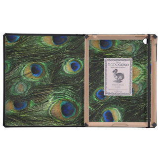 iPad DODOcase Peacock Green Blue iPad Cases