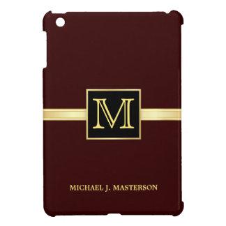 iPad ejecutivo del monograma masculino mini iPad Mini Fundas