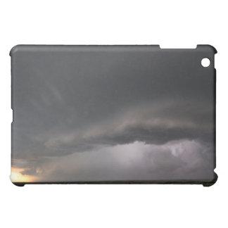 "iPad Fabric-Inlaid Hard-Shell Case-""Stormy"" iPad Mini Covers"