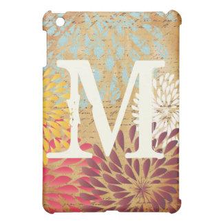 iPad floral moderno de Emphera Monogam del vintage iPad Mini Protectores